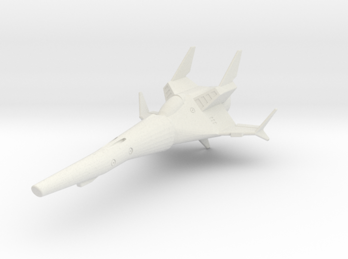 TA02 SR5 Space Fighter 3d printed