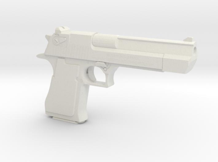 1:6 Miniature Desert Eagle Gun 3d printed