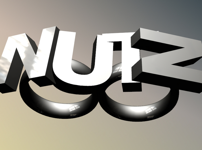 Nutz Double 2 3d printed