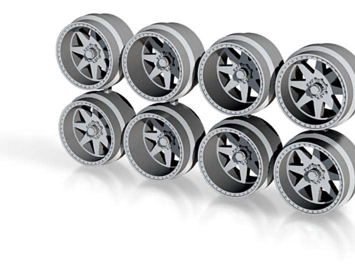 AF In 11-3 Hot Wheels Truck Rims 3d printed