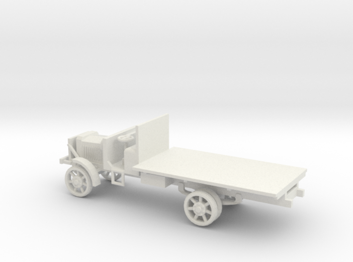 1/72 Scale Liberty Truck 3d printed