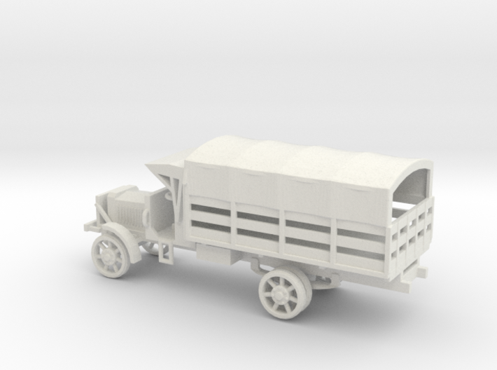1/72 Scale Liberty Truck Cargo with Cover 3d printed