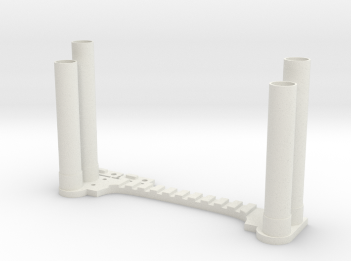 Clodbuster Dual Exhaust 3d printed