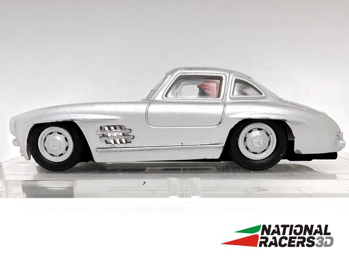 3D Chassis - Cartronic Mercedes 300SL (Inline-AiO) 3d printed
