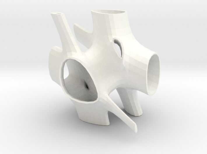 Vorospace Sculpture -Version 3 3d printed