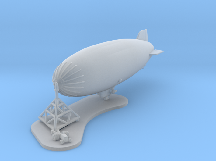 U.S.NAVY K-Ship with Mobile Mooring Mast 3d printed