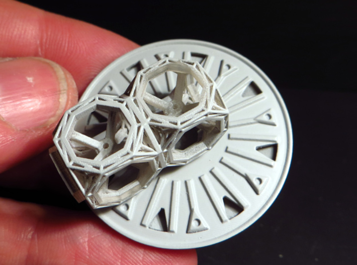 BYOS ADD ON CONTAINER DISH 3d printed Part attached to the nano frame -sold apart-.