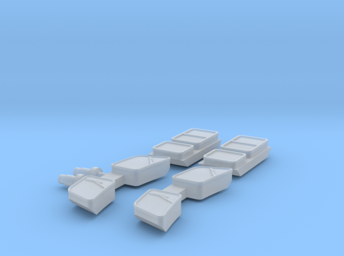Glas for DSB MH in 1:160 N scale 3d printed