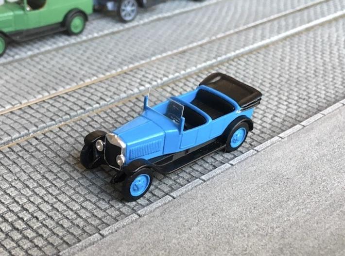 1:87 Unic L roadster 1922 3d printed