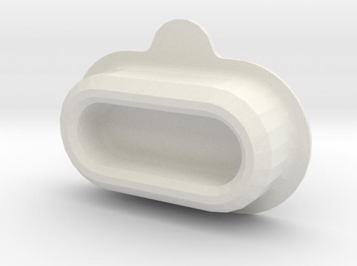 Garmin fenix 5 rear connector cap (your engraving) 3d printed
