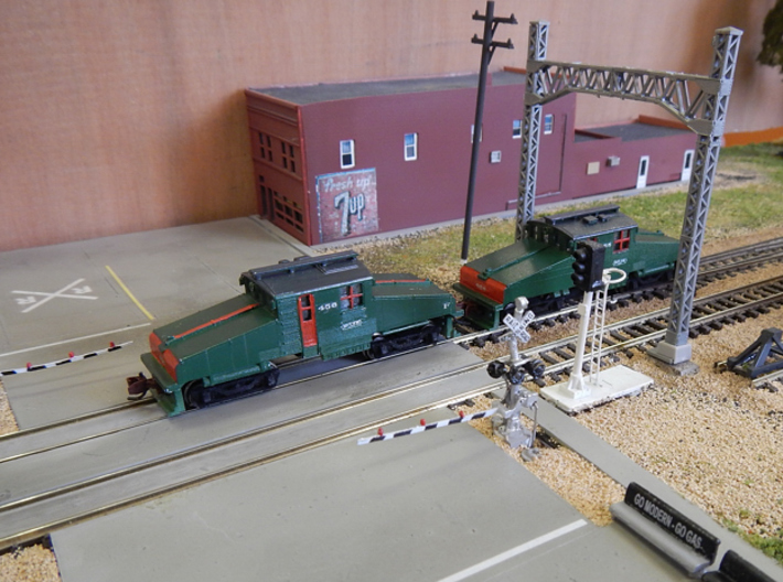 CNSM Battery Loco 455 - 456 3d printed 455 and 456 on David M's layout