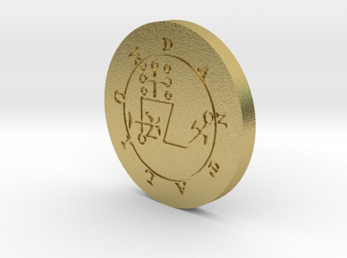 Dantalion Coin 3d printed