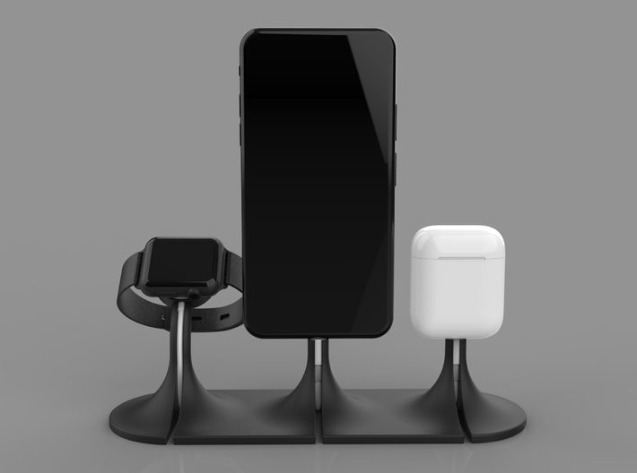 Trio Dock For Iphone Apple Watch And Airpods Qxsxkjaat By