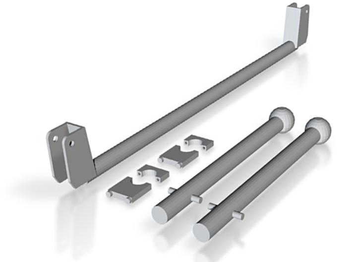 H9 1/4 Scale Control Stick 3d printed