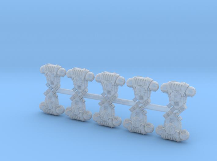 10x Storm Fists - Prime:1 PACs 3d printed