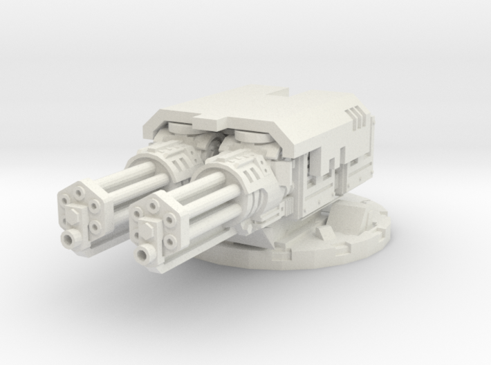 complete cannon mount for assault cannons - 28mm S 3d printed
