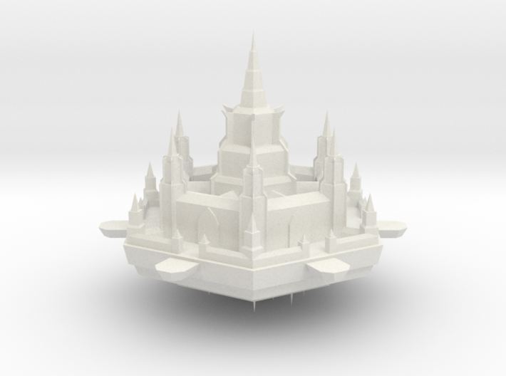 Navy Milhex Fortress 3d printed
