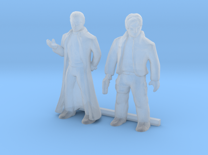 S Scale Male Robbers 3d printed This is render not a picture