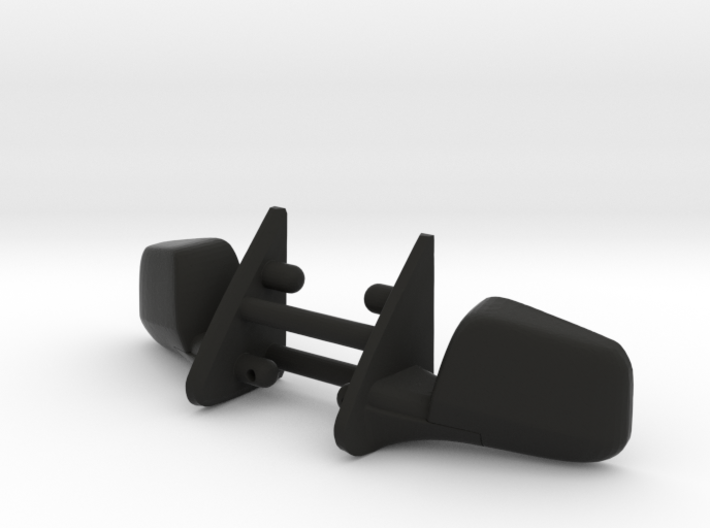 PM10017 Metric side mirrors 3d printed