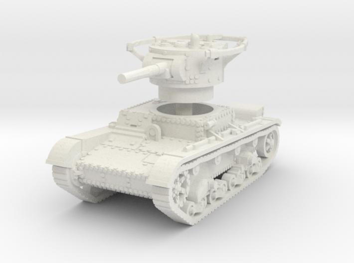 T 26 B Radio Tank 1/100 3d printed