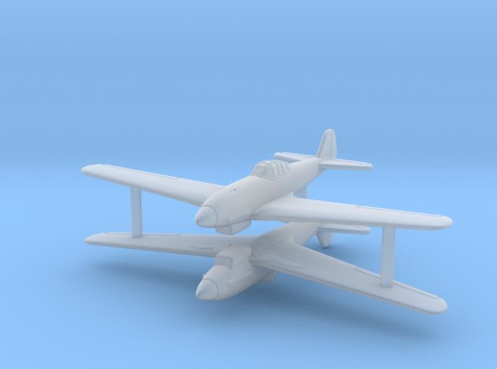 1/285 (6mm) Nakajima Ki-62 (x2) 3d printed