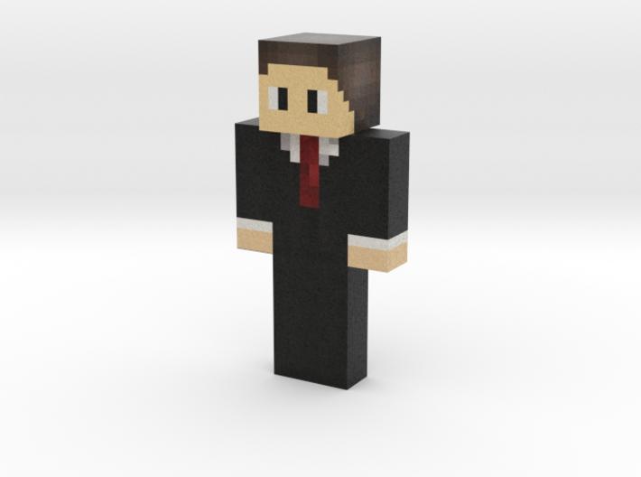 Alfatrick   Minecraft toy 3d printed
