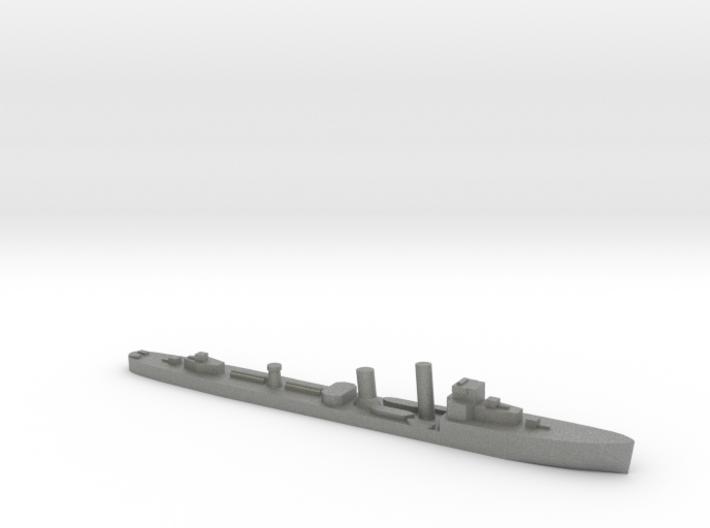 HMS Wessex 1:3000 WW2 naval destroyer 3d printed