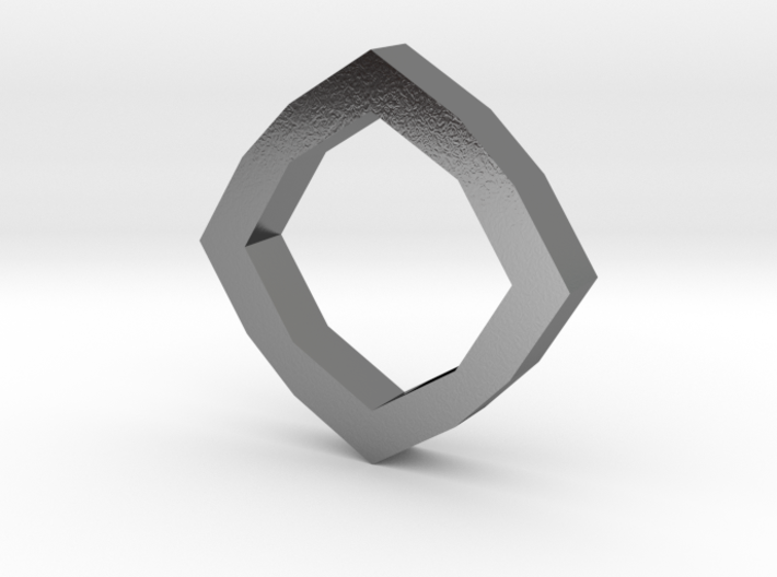 f110 grid octagon ring 1 gmtrx 3d printed