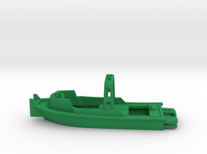 MKII Bridge Erection Boat (Waterline version) 3d printed