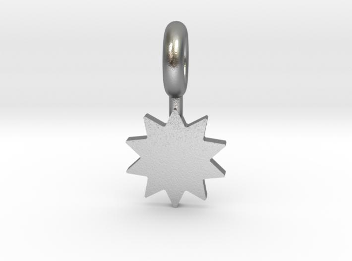 P O W E R Star Pendant 3d printed