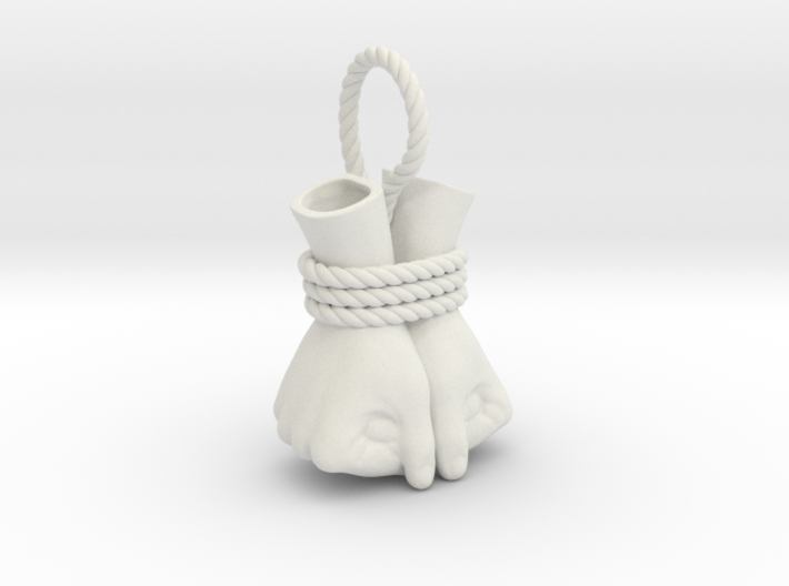 Bound Hands 3d printed