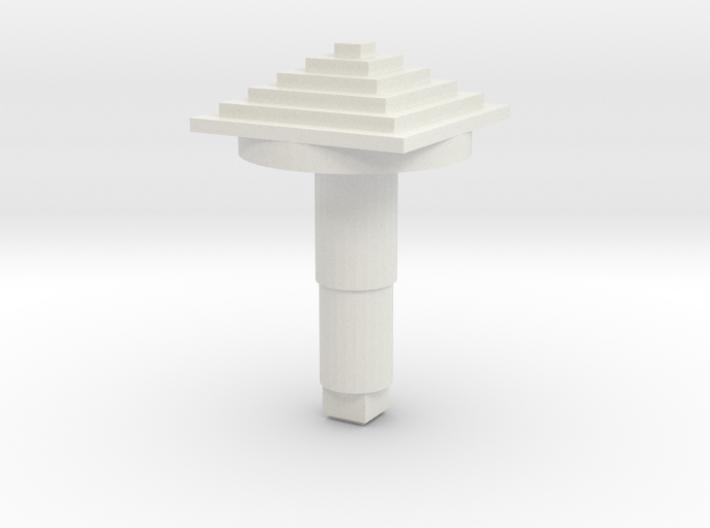 STEM_4WAY_COOLIE_6_PYRAMID 3d printed
