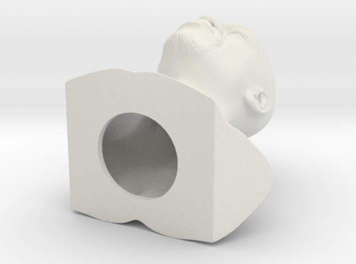 Floyd Mayweather bust 3d printed