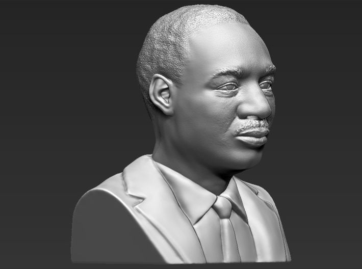Martin Luther King bust 3d printed