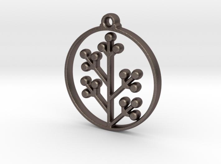 Floral Pendant VI 3d printed