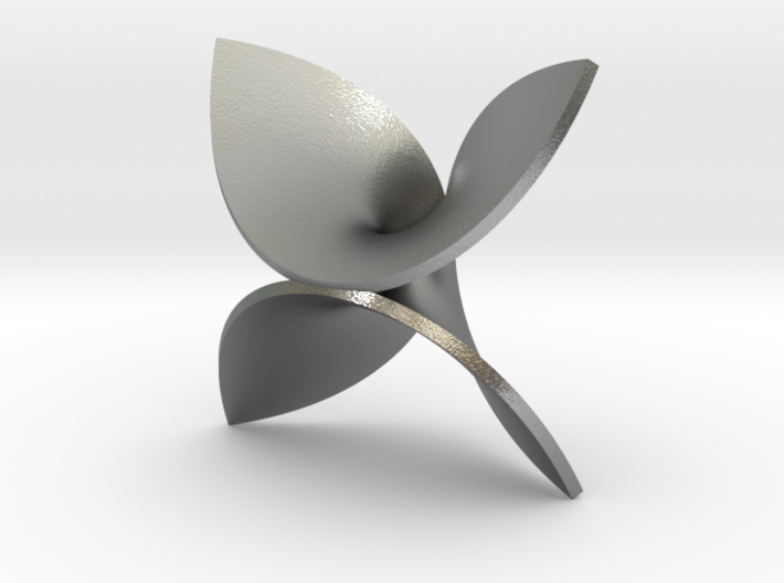 Enneper for silver 3d printed