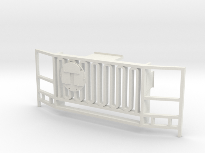 WPL 1/16 Truck Front Grille B 3d printed