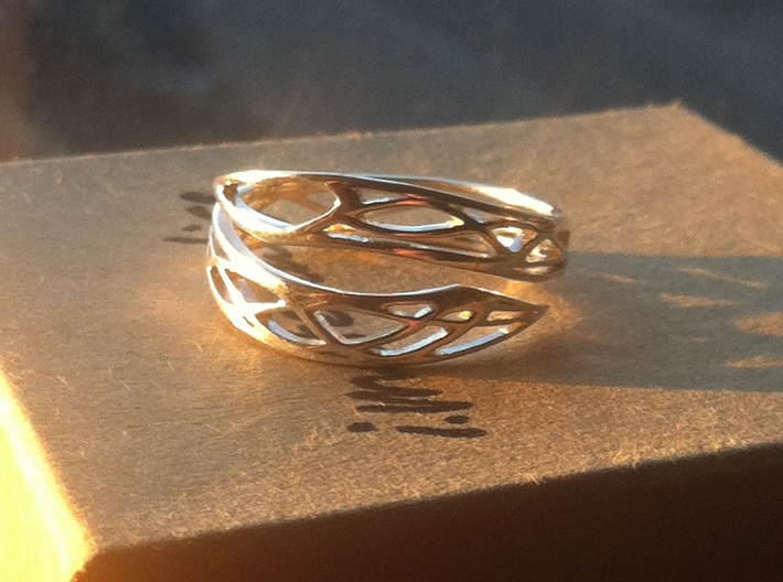 Embrace of Love 3d printed Silver Printed