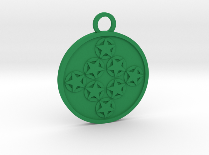 Eight of Pentacles 3d printed