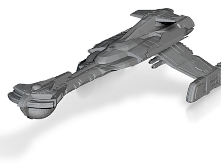Klingon Wartar Class II BattleDestoryer 3d printed