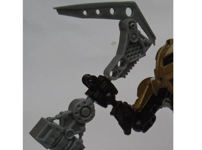 Gravity Tool - Articulated blade kit 3d printed