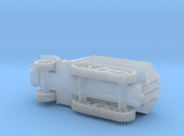 Unic P107 U 304(f) Halftrack (2. Series) 1/144 3d printed