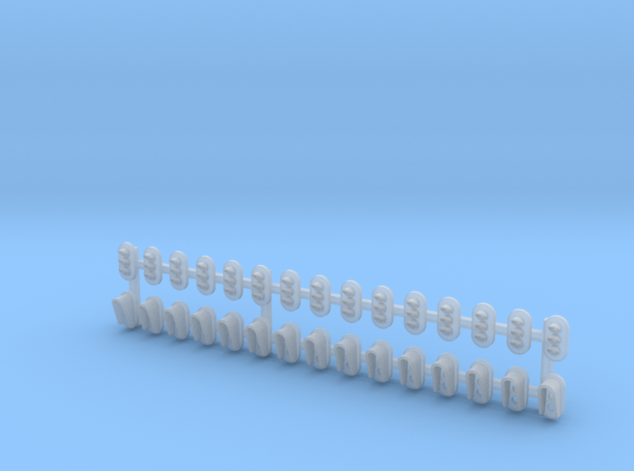 Z Scale 30x Signals SMD Special 3d printed