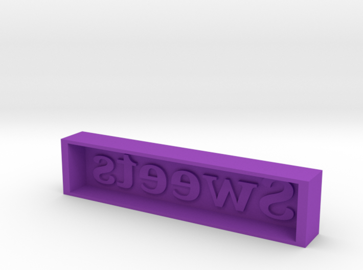 Sweeeeet Candy Mold 3d printed