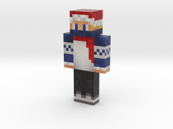 wolf65   Minecraft toy 3d printed