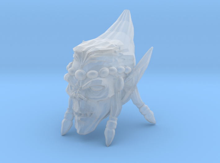 Interplanar Villian Head 2 with Open Mouth 3d printed Recommended