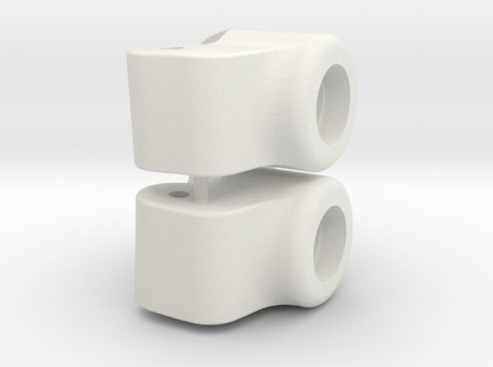 Tamiya DT02/3 Rear Upright 3 Deg Toe In 3d printed