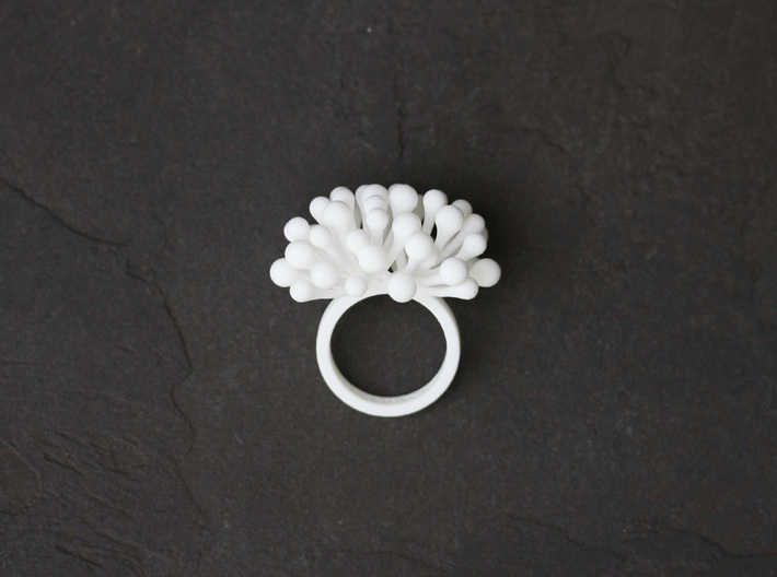 Berry Explosion Ring 3d printed