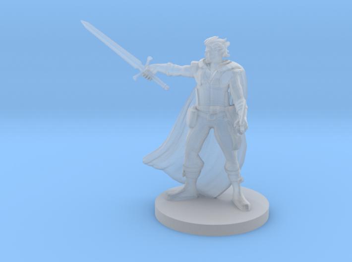 Elven Swashbuckler 3d printed
