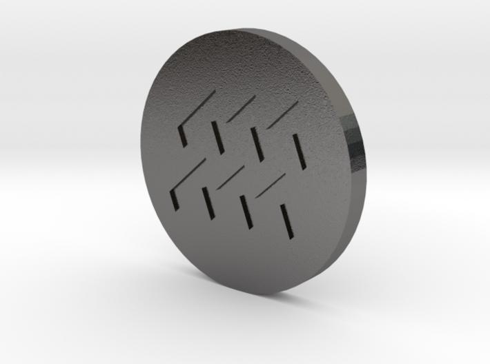 Aquaris Coin 3d printed
